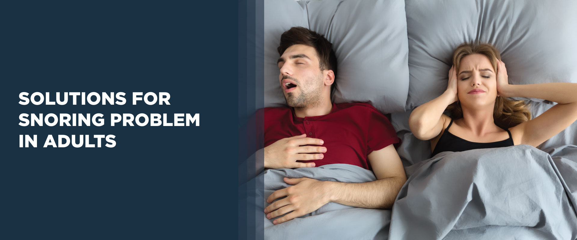 Solution To Your Snoring Problems